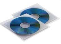 25 buste a sacco PP Insert CD 125x120mm c/patella Sei Rota