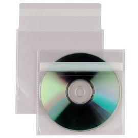 25 BUSTE A SACCO PPL 12,5X12CM INSERT CD AR C/PATELLA ADESIVA
