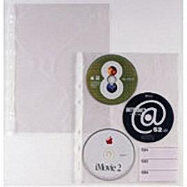 10 BUSTE FORATE PER 3 CD ATLA CD 3 21X29,7 SEI ROTA