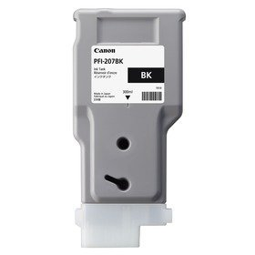 INK CARTRIDGE PFI-207BK NERO 300ml