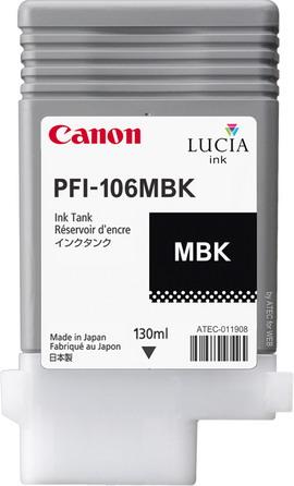 CARTUCCIA INK PFI-106 NERO MATTE