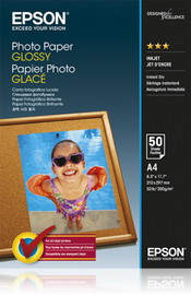 CARTA FOTOGRAFICA LUCIDA GOOD 50fg 200gr 210x297mm A4 EPSON