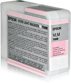 TANICA INCHIOSTRO A PIGMENTI EPSON ULTRACHROME K3 VIVID-MAGENTA CHIARO (80ML).