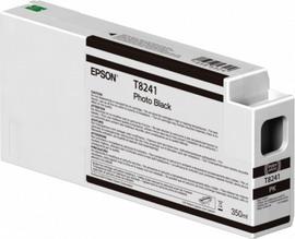 TANICA INCHIOSTRO NERO FOTO 350 ML PER PLOTTER EPSON SURECOLOR SERIES SC-P6000