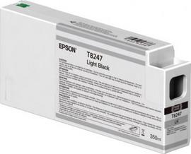 TANICA INCHIOSTRO LIGHT BLACK 350 ML X PLOTTER EPSON SURECOLOR SERIES SC-P6000/