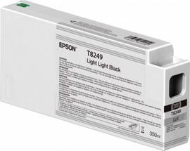 TANICA INCHIOSTRO NERO LIGHT LIGHT I350 ML X PLOTTER EPSON SURECOLOR SC-P600 SER