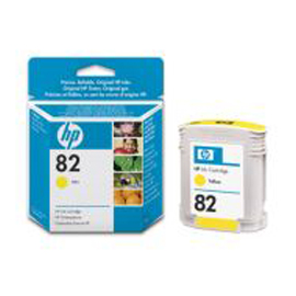 CARTUCCIA A GETTO D'INCHIOSTRO HP N.82 GIALLO 69ML