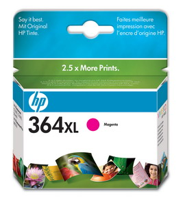 CARTUCCIA A GETTO D'INCHIOSTRO HP N.364XL MAGENTA