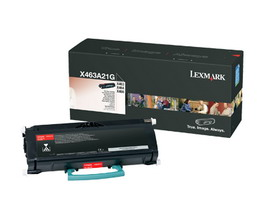TONER NERO NON RETURN PROGRAM X463 X464 X466 CAPACITA' STANDARD