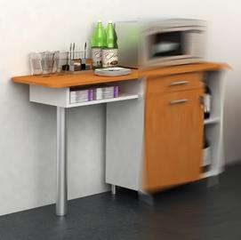 Allungo per Mobile Punto Caffe' 60x45xH84cm Bicolore - Angolo Ristoro